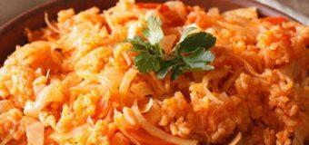 Λαχανόρυζο με καρότα για σήμερα Τετάρτη