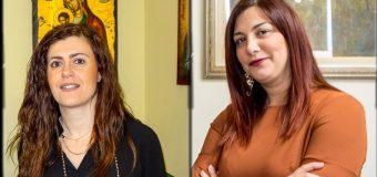 Ροδία Καραμπελιά και Χριστίνα Ευσταθίου υποψήφιες με τον δήμαρχο Χρήστο Νικολάου και τη «Συνεργασία Δυμαίων Πολιτών»