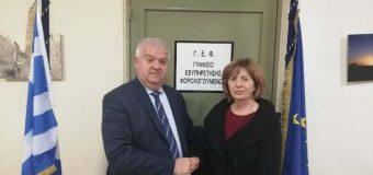 Υποψήφια με τη «Συνεργασία Δυμαίων Πολιτών» και τον Χρήστο Νικολάου, η Ιωάννα Σωτηρόπουλου