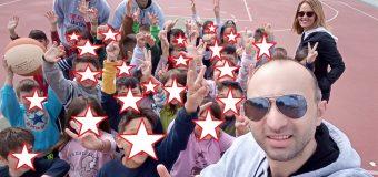 Η Αχαγιά ΄82 στο 1ο Δημοτικό σχολείο της Κάτω Αχαΐας – Μαθητές και παίκτες μια παρέα!