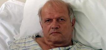 Σοκάρει ο Τσελέντης από το Νοσοκομείο: «Η κολόνα πέρασε 5 εκατοστά από το κεφάλι μου» – ΦΩΤΟ